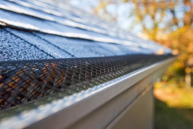 Eugene Gutter Guard system for a home