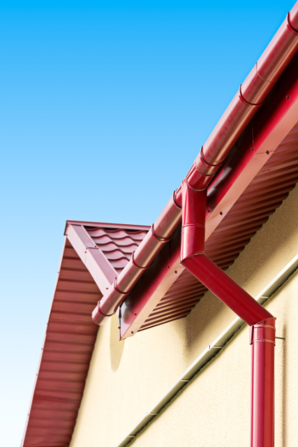 New Gutter System project in Eugene, OR